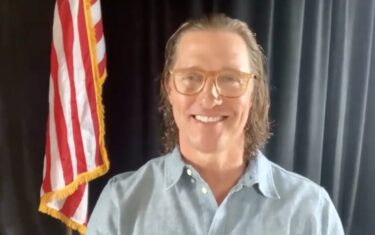 Matthew McConaughey Planning Virtual Benefit to Help Fellow Texans